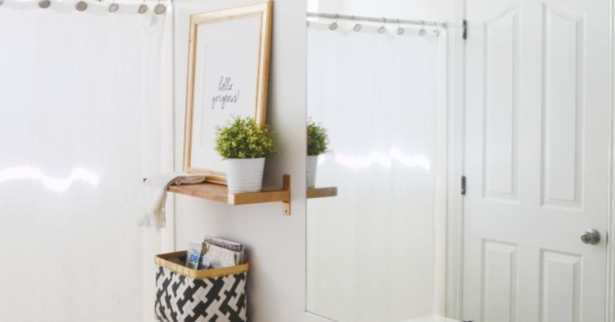 Budget guest bathroom makeover hometalk for Bathroom decor riverton