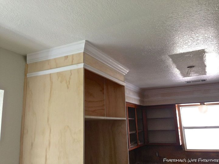 Kitchen Remodel Soffit Ceiling Countertops Diy Flooring Hardwood Floors Kitchen Cabinets