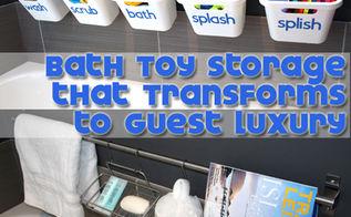 organization bath kids toys, bathroom ideas, organizing, storage ideas