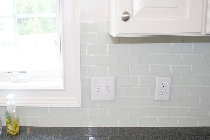 kitchen backsplash redo clean home improvement kitchen design