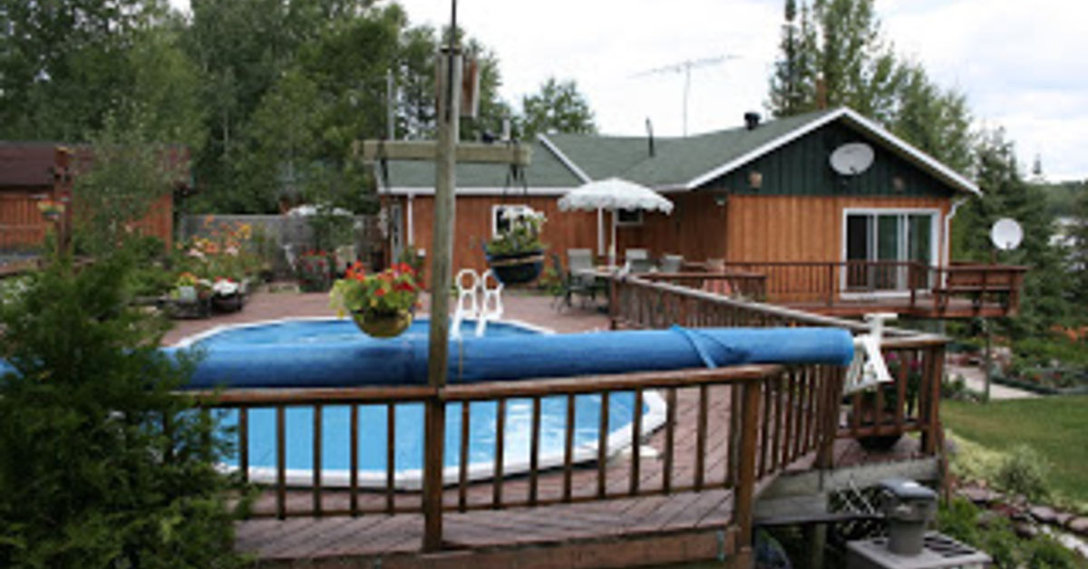 Replacing an above ground pool with patio hometalk - Diy above ground pool ...