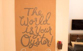 craft message board paper, crafts, diy, wall decor