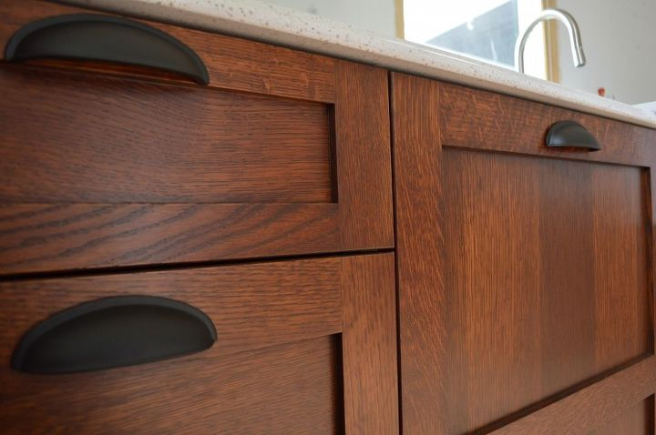 Staining Kitchen Cabinets at Home | Hometalk