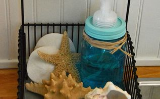 mason jar soap dispenser, mason jars, repurposing upcycling