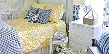 bedroom ideas shutter wall, bedroom ideas, home decor, repurposing upcycling, wall decor