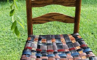 renewed rush seat chairs, painted furniture, repurposing upcycling