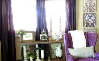 rustic refined living room tour, home decor, living room ideas