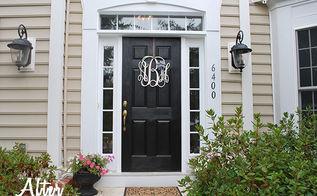 doors front paint makeover, doors, painting