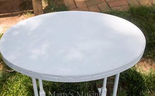 how to strip paint wood side table, how to, painted furniture, woodworking projects