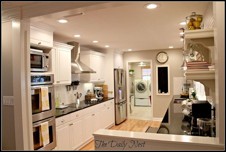 Lightened Up Home Reveal Dining Room Ideas Decor Kitchen Cabinets