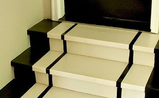 simple steps to painting steps, how to, painting, stairs, These are the finished steps