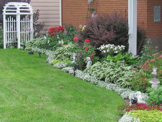 Canadian home garden tour hometalk for Garden design ideas canada
