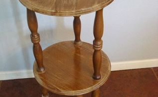 painted furniture side table transformation, painted furniture