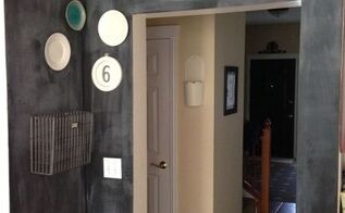 chalkboard paint wall project, chalkboard paint, diy, home decor, painting, wall decor