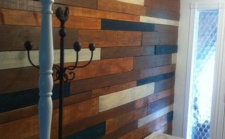 foyer remodel wood entryway, diy, foyer, home improvement, wall decor