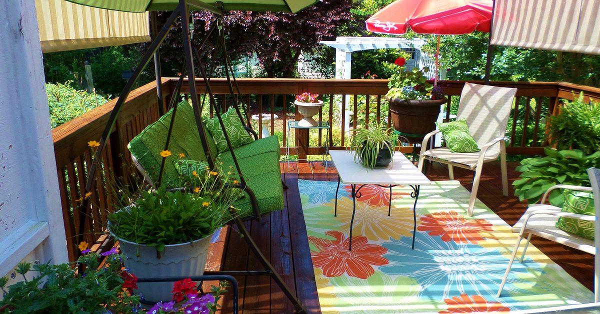 Deck And Garden Tour In North Carolina Backyard Hometalk