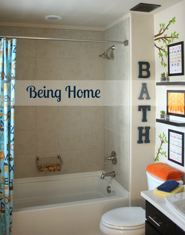 Kids bathroom makeover hometalk for Small bathroom design in philippines