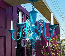 backyard ideas gypsy boho fun, outdoor furniture, outdoor living, painted furniture, repurposing upcycling
