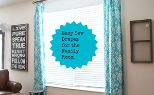 curtains drapes sew easy, diy, home decor, reupholster, window treatments