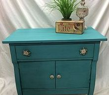 painted furniture side table turquoise, painted furniture
