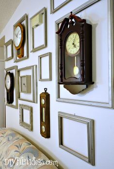 wall art clock gallery low cost home decor how to living room ideas