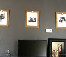 diy clipboard art, crafts, repurposing upcycling, wall decor