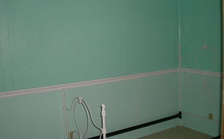 guest room makeover, bedroom ideas, painting, wall decor