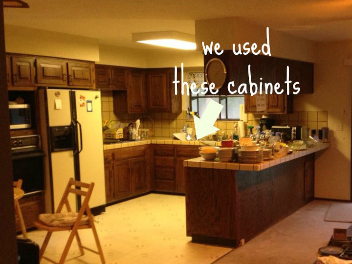 Old Kitchen Cabinets Into Built In Bed Hometalk