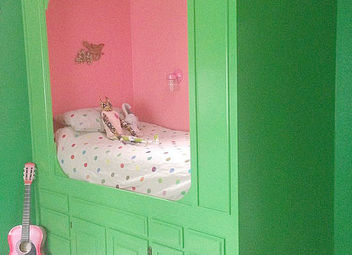 Diy Turn An Old Bathroom Vanity Into A Built In Bed Hometalk