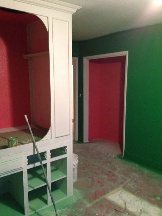 Built In Bed Repurpose Kitchen Cabinets Bedroom Ideas Diy Painted Furniture Repurposing