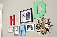diy gallery wall inexpensive, crafts, home decor, wall decor