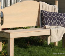 woodworking headboard bench upcycle repurpose, diy, outdoor furniture, repurposing upcycling, woodworking projects