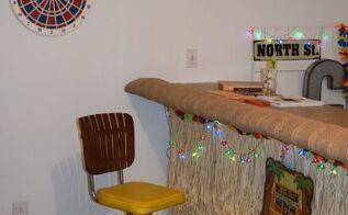 basement ideas tiki bar decor, basement ideas, entertainment rec rooms, home decor