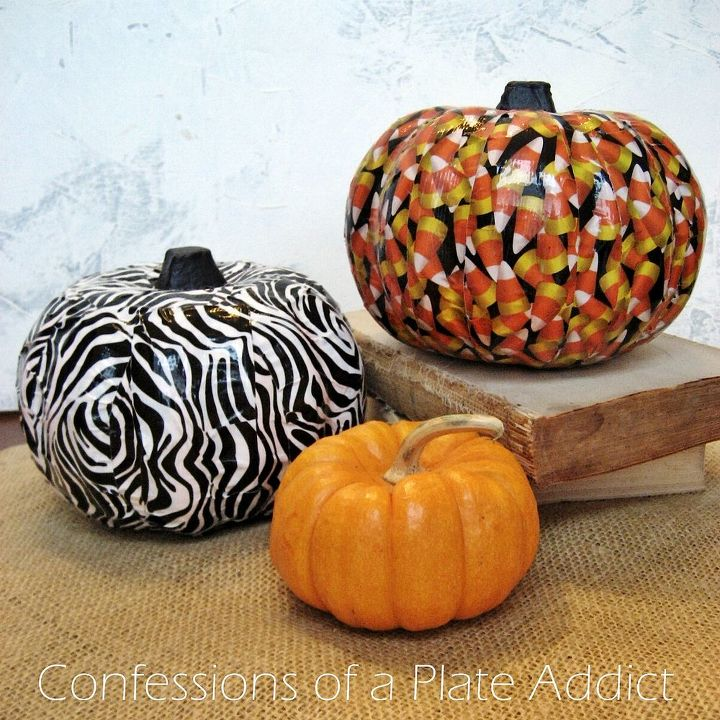 halloween fun easy duct tape pumpkins crafts halloween decorations home decor - Halloween Decorations Pumpkin