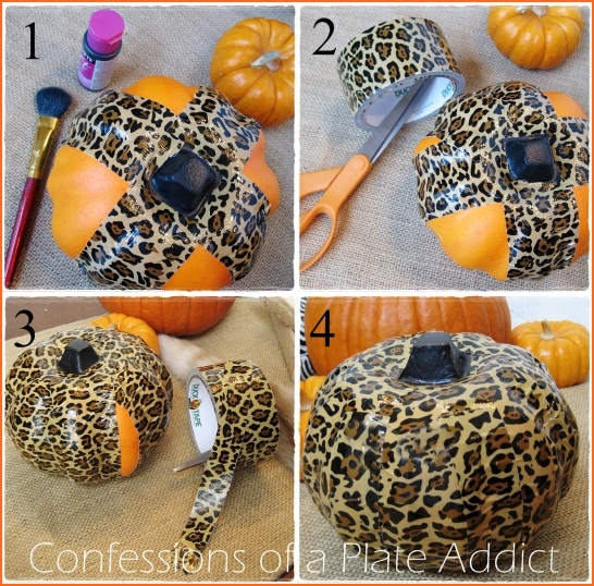 halloween fun easy duct tape pumpkins crafts halloween decorations home decor