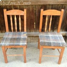 who knew old chairs could look so good, diy, painted furniture, repurposing upcycling, woodworking projects