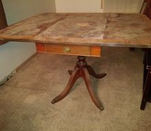 antique table wood vintage old identifcation informations, painted furniture