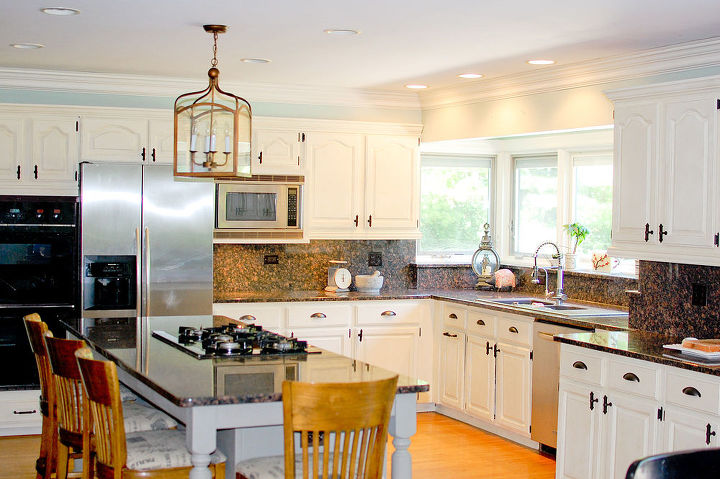Kitchen Cabinets Chalk Paint Makeover Dining Room Ideas Design