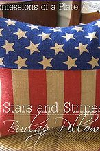 diy pillow pottery barn stars stripes, crafts, patriotic decor ideas