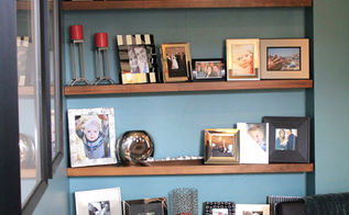 wall art floating shelves personalize, home decor, living room ideas, shelving ideas, wall decor