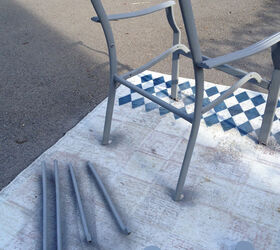 Redo Patio Sling Chairs for Under $  Hometalk