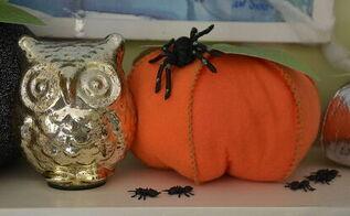 crafts stuffed fabric pumpkins tutorial fall, crafts, halloween decorations, seasonal holiday decor