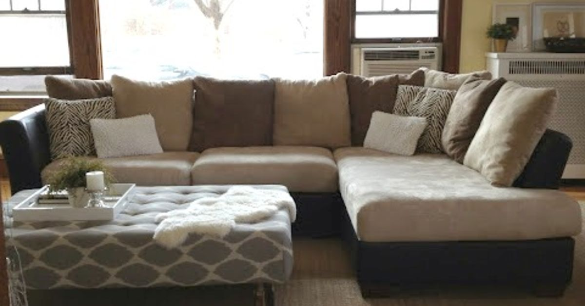 How To Reupholster A Sectional Sofa Interesting ...