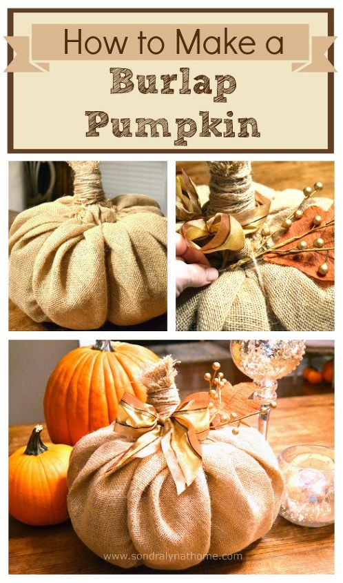 How to make a burlap pumpkin hometalk - Making a pumpkin keg a seasonal diy project ...