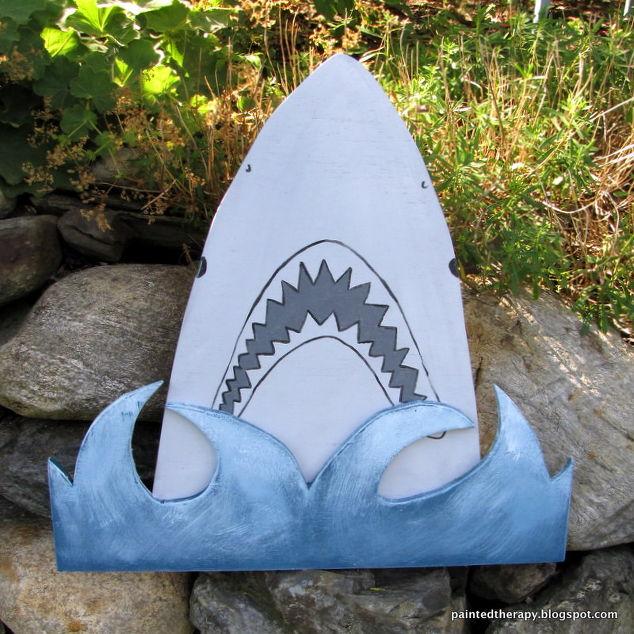 A Boy\'s Shark Bedroom for Shark Week   Hometalk