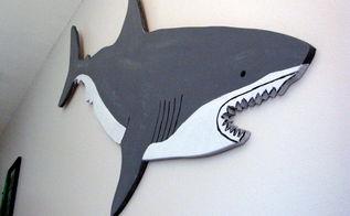 bedroom ideas shark room boys shark week, bedroom ideas, painted furniture, wall decor, woodworking projects