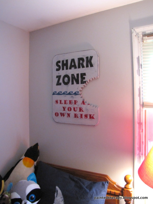 bedroom ideas shark room boys shark week, bedroom ideas, painted furniture,  wall decor - A Boy's Shark Bedroom For Shark Week Hometalk