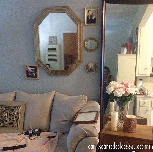Do It Yourself Gold Octagon Mirror Revamp Hometalk