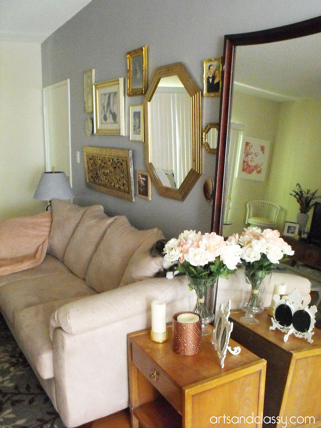 Do It Yourself Gold Octagon Mirror Revamp Hometalk
