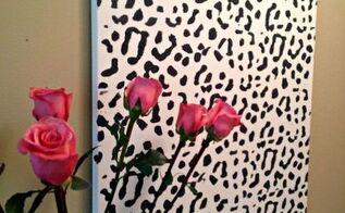 Leopard Print Wall Decor botanical print wall art   hometalk